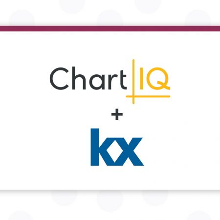 KX Announces ChartIQ Integration into Real-Time Data Visualization and Analysis User Interface