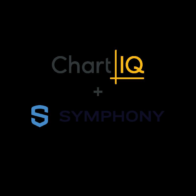 ChartIQ and Symphony logos